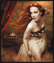 Simone Simons - Crownless by OmarRodriguezV