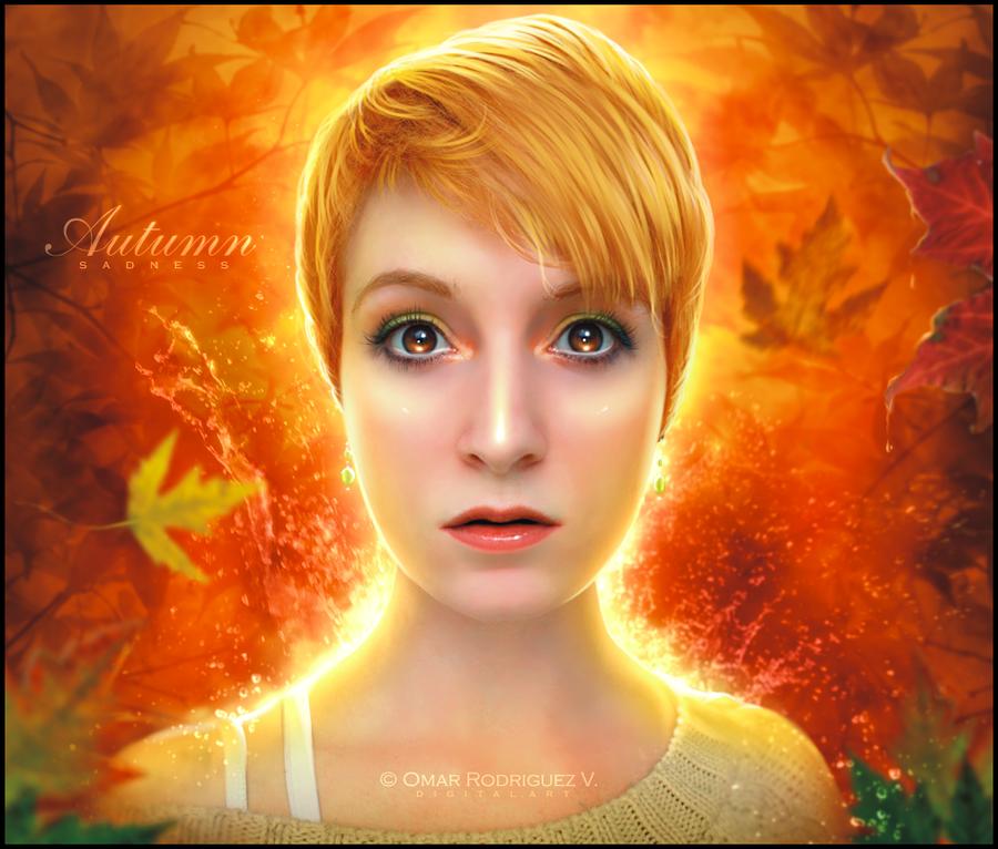 + Autumn Sadness + by OmarRodriguezV