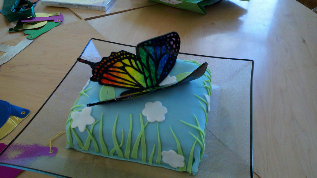 Cake Decoration Butterfly : Butterfly Cake Decoration 2 by Helegris-Nimbereth on ...