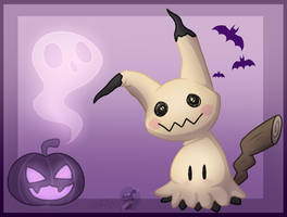Mimikkyu by Frostii-Dragons