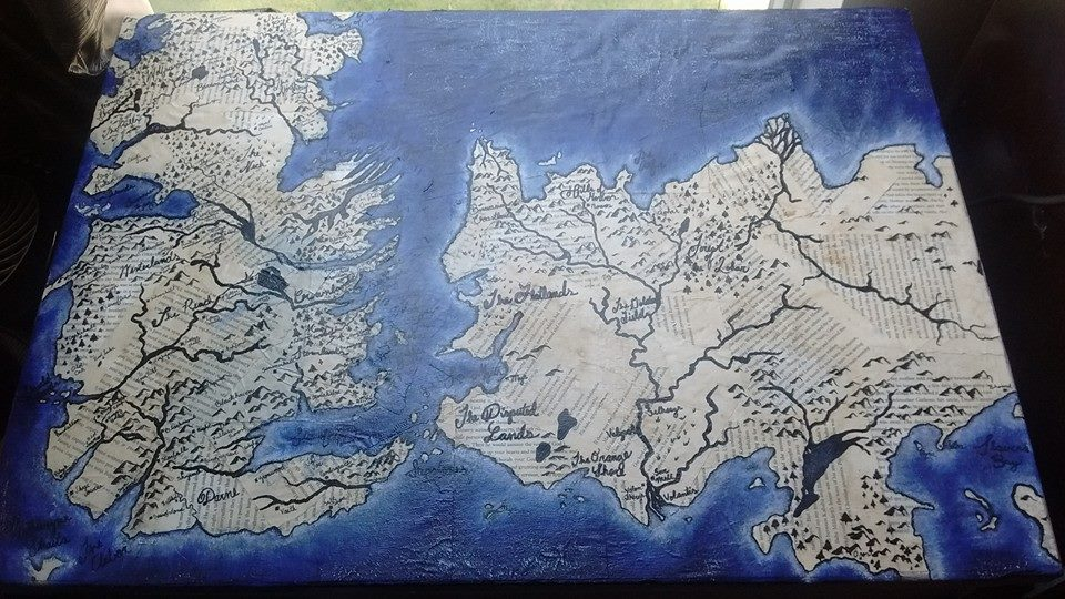 Game of Thrones Map Table Top by shermanbn94 on DeviantArt Best Game Of Thrones Map on world map, guild wars 2 map, best map of essos, best united states map, best vegas map, clash of kings map, best westeros map, best gorge map,