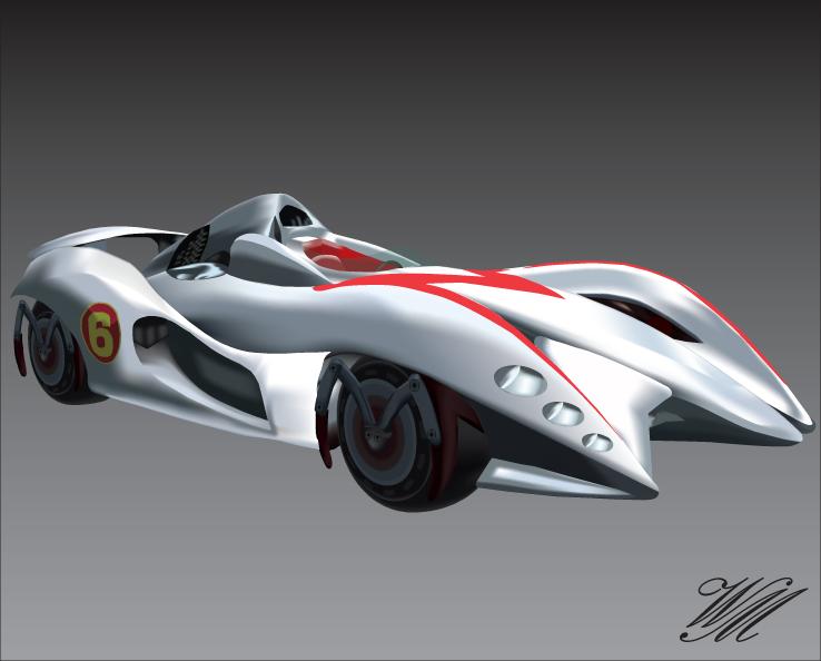 Image Gallery Mach 6 Car
