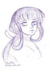 Inuyasha: Quick Kikyo sketch