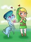 Princess Ruto and Link