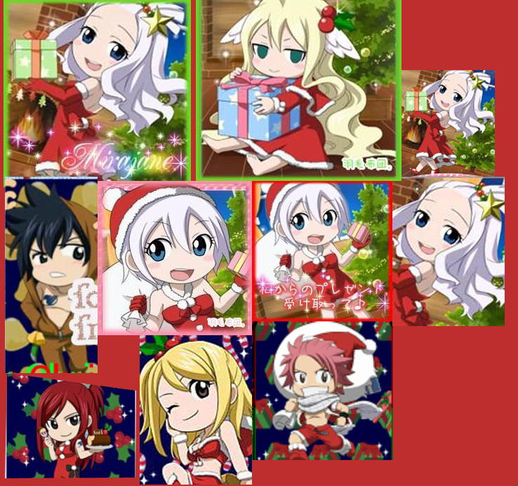 Fairy Tail Christmas Chibis by lmslucas on DeviantArt