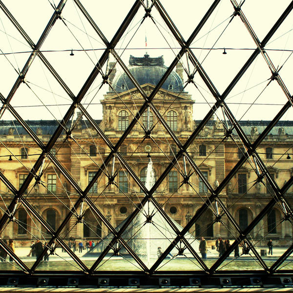 Louvre 1 - Paris by Alabastra