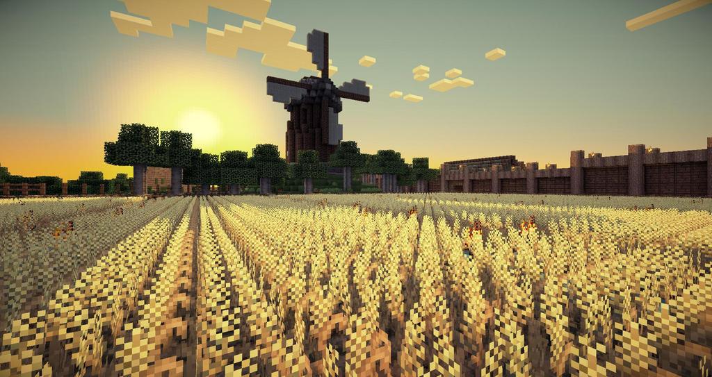 Great Day At The Farm Minecraft By CarlosTown On DeviantArt - Minecraft computerspiele