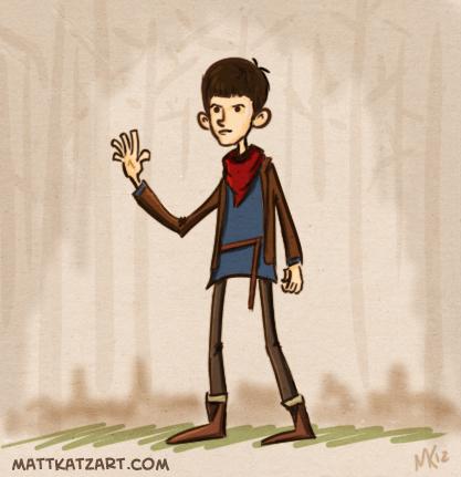 Merlin by tafkase7en