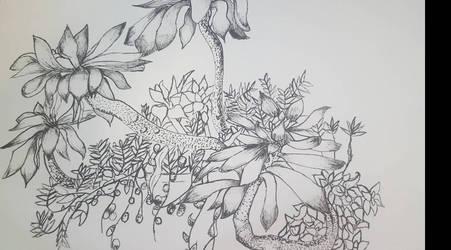 Ink Jungle by Kyukono