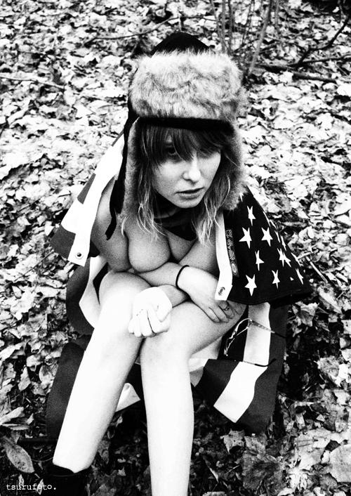 Angela In The Woods by Tsururadio