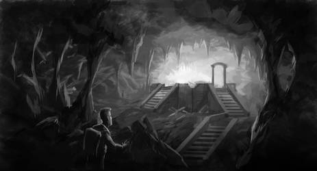 SpeedPaint-Cave Discovery