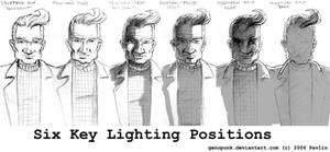 Six Key Lighting Positions