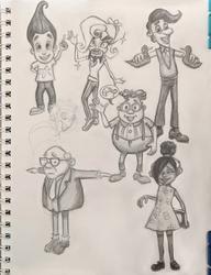 Sketchbook Pg 1 by stardrop-soda