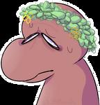 Meat in a lettuce crown
