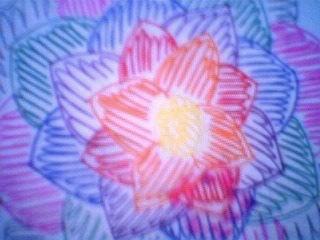 a scribbled flower by xhazeleyedbitchx