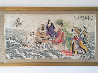 8 Immortals crossing the sea by derwahrehorst