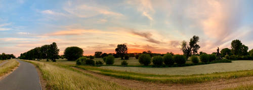 For those who like my Sunset Panoramics  (a)