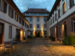Lahr 2021, Palais Wunderlich in the late evening 2