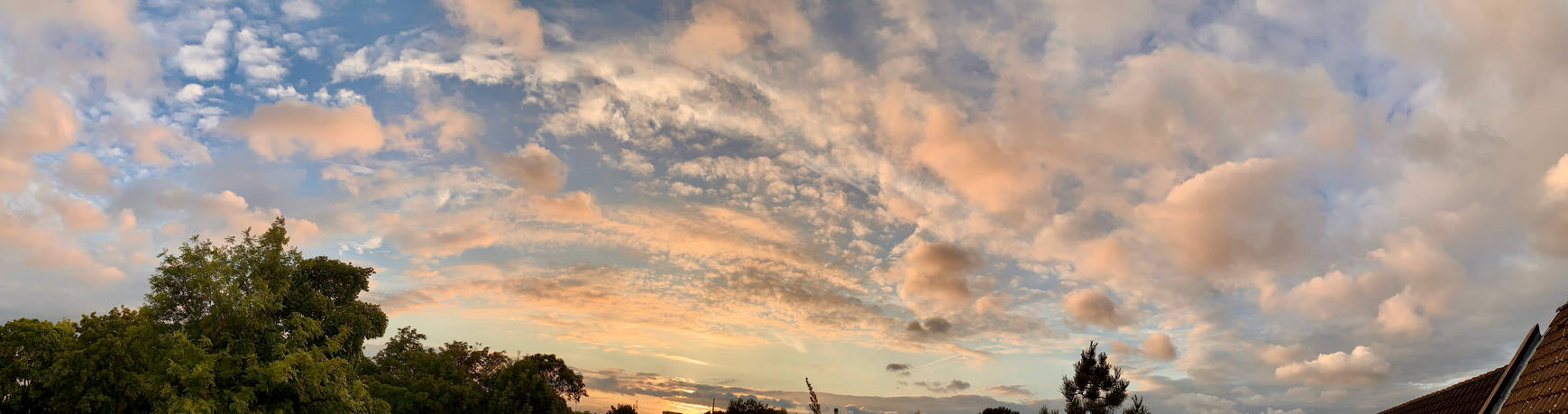 Panoramic Cloudscape, 2021 August 28th B