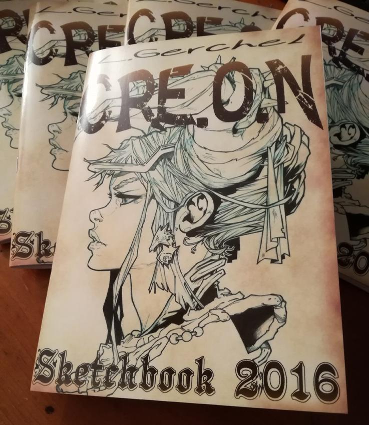 Sketchbook 2016 by CREONfr