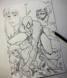 Spider-Man   'Women Of My Life' by CREONfr