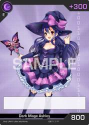 Guardian Revolution Card Game - Dark Mage Ashley by LittleJellyWorks