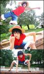Monkey D. Luffy by IchigoKitty