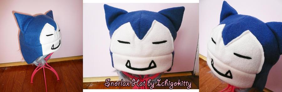 Snorlax hat by IchigoKitty