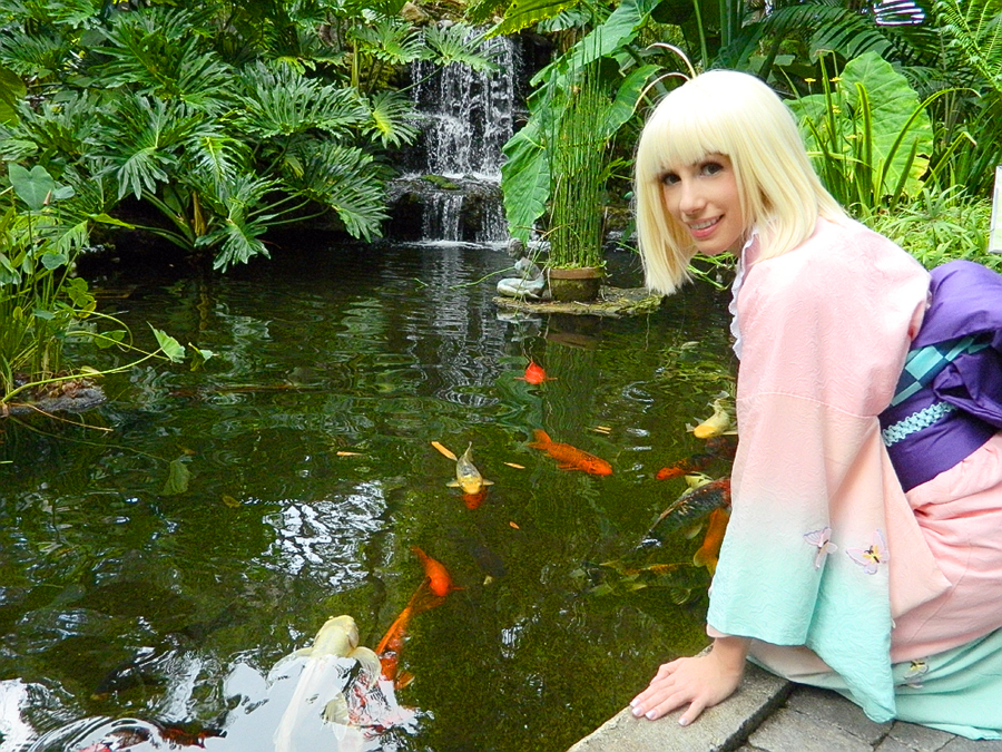 Playing with koi by ichigokitty on deviantart for Playing koi