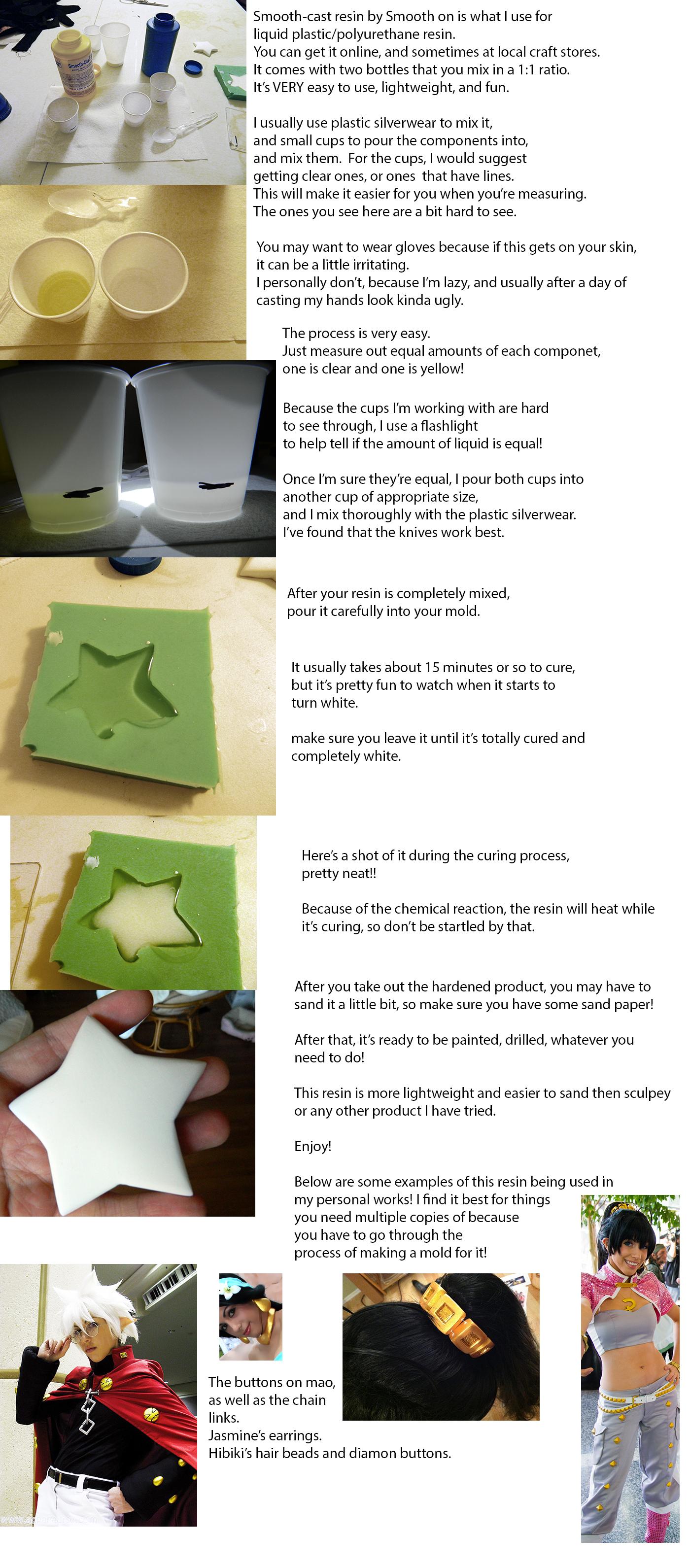 Liquid plastic (resin) tutorial by IchigoKitty