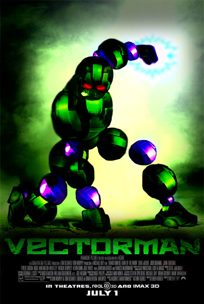 Vectorman LIVES by Hellzguardean