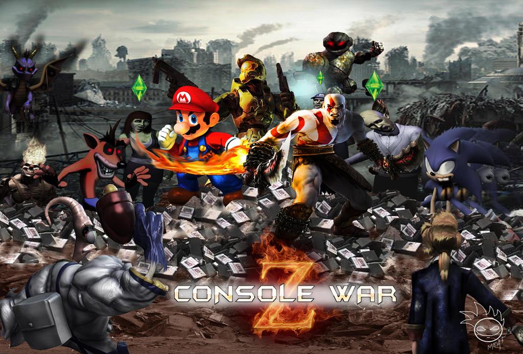 Console War Z by Hellzguardean