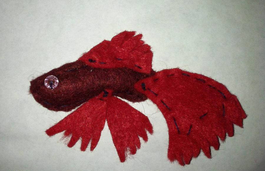 Plush betta fish by mulesaregreat77 on deviantart for Betta fish toys