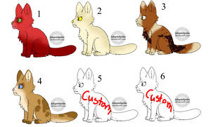 Cat and Dog Adopts 3/6 {OPEN}