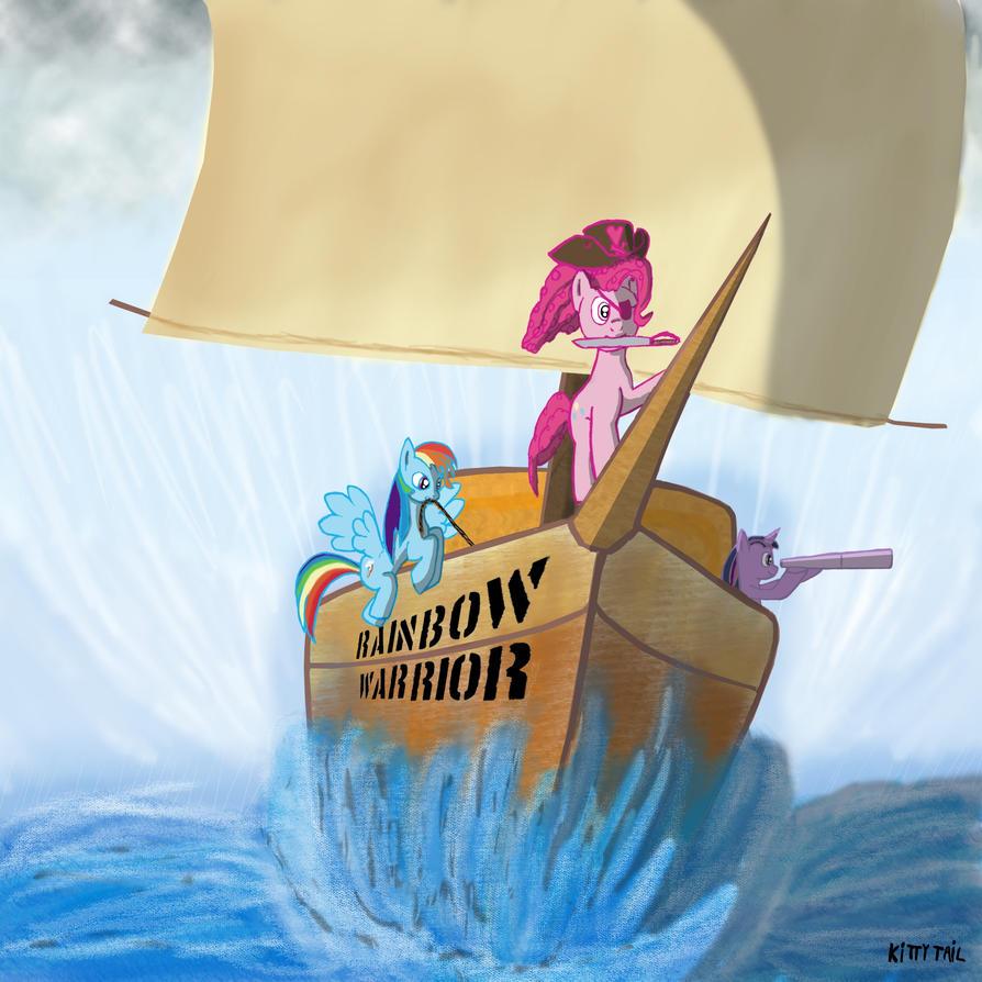Rainbow Warrior By LKittyTaill On DeviantART