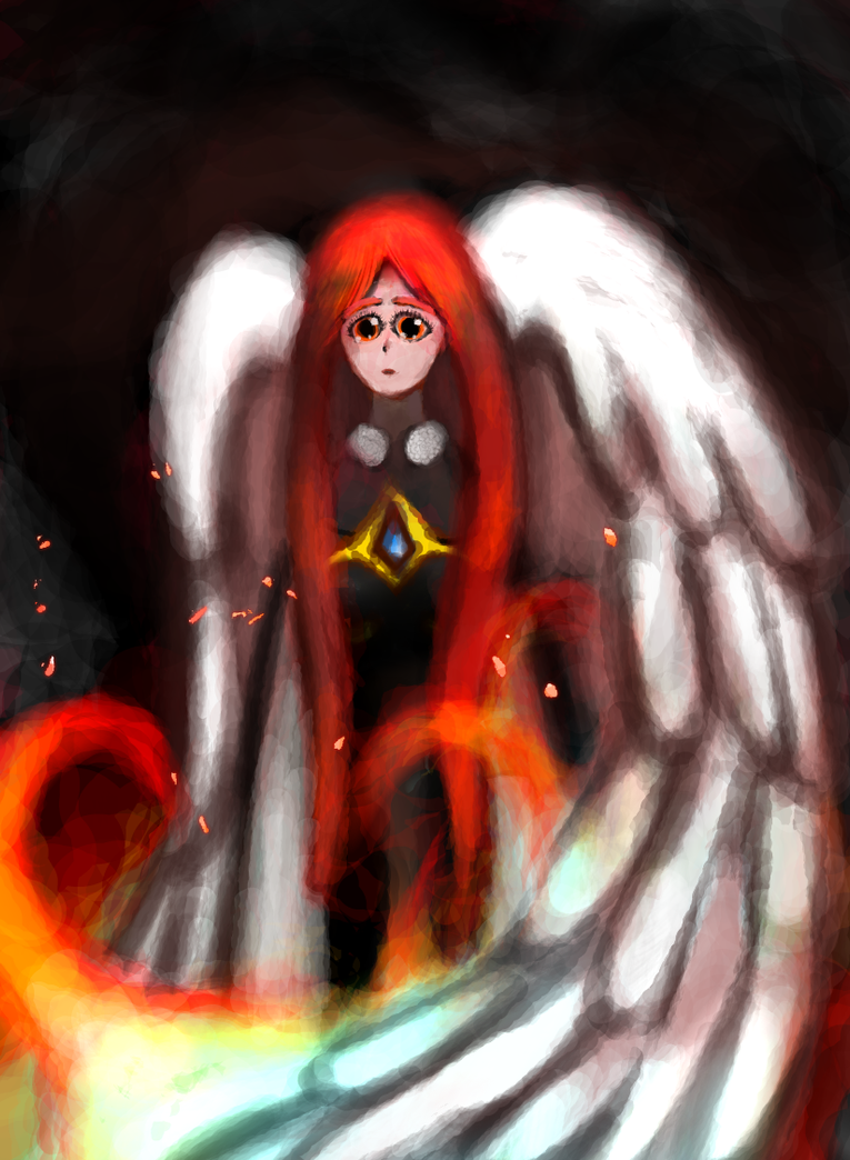 Ignition Wing Digital Artwork by SelLillianna