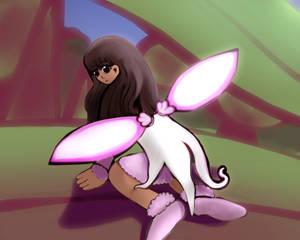 Little Cherry Blossom Fairy