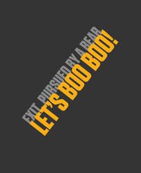 Let's Boo Boo