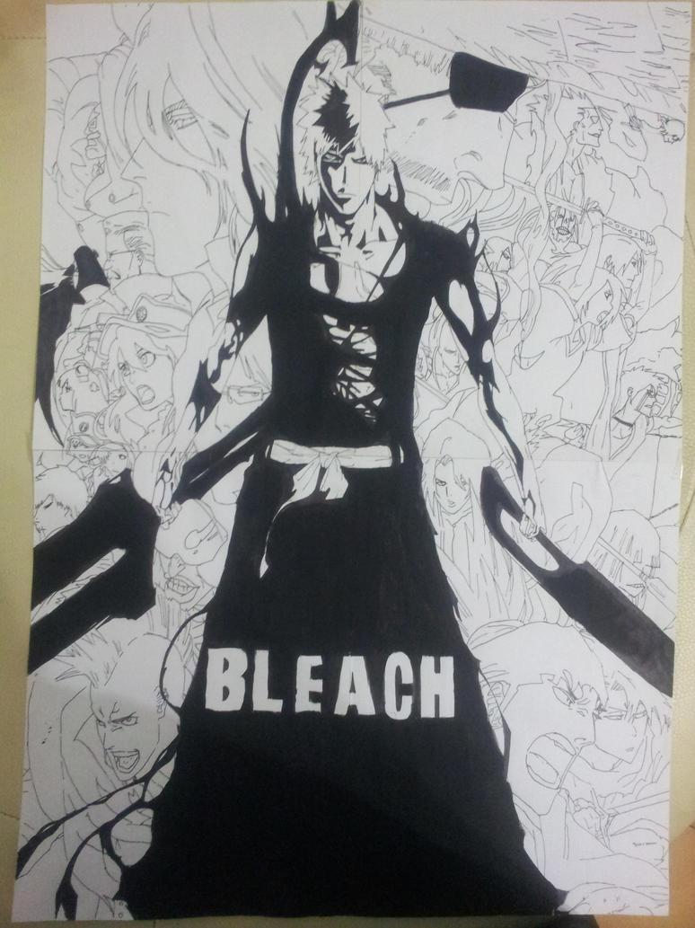 Ichigo Kurosaki New Zangetsu Bleach-Ichigo Kurosaki...