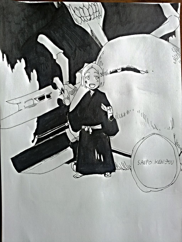 Bleach Yachiru Kusajishi Shikai By D34THM3T4L