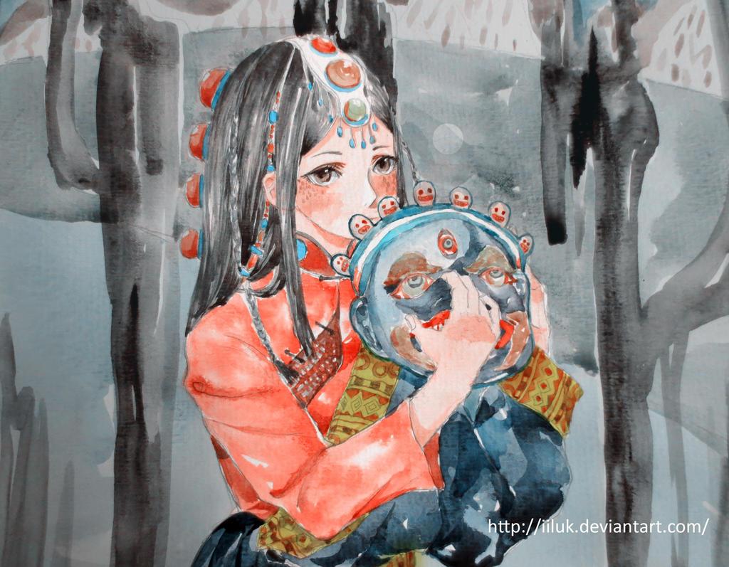 Tibetan girl~ by iiluk
