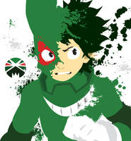 Boku no hero academia by crazy8rex