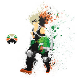 Bakugou. Bang Bang! by crazy8rex