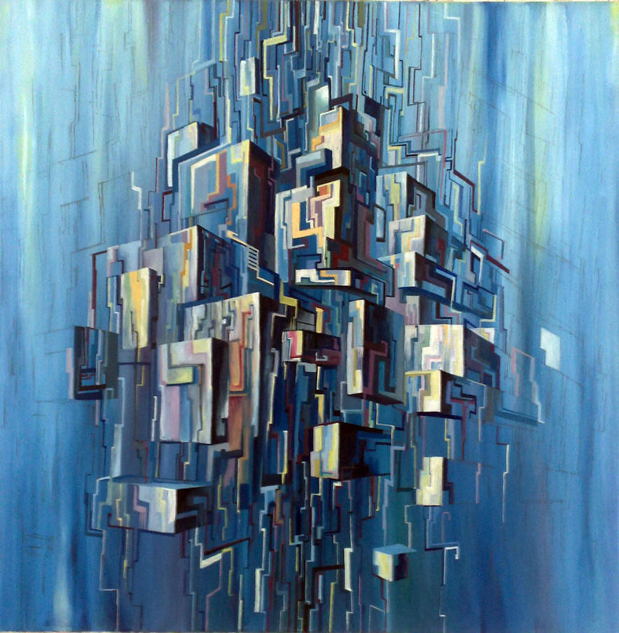 abstract city by yelloty on deviantart