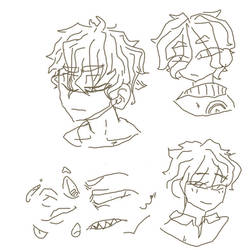 some rough sketches // uwu