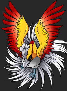+Ho-Oh drawn by PikaChoupi line n colored by me 2+
