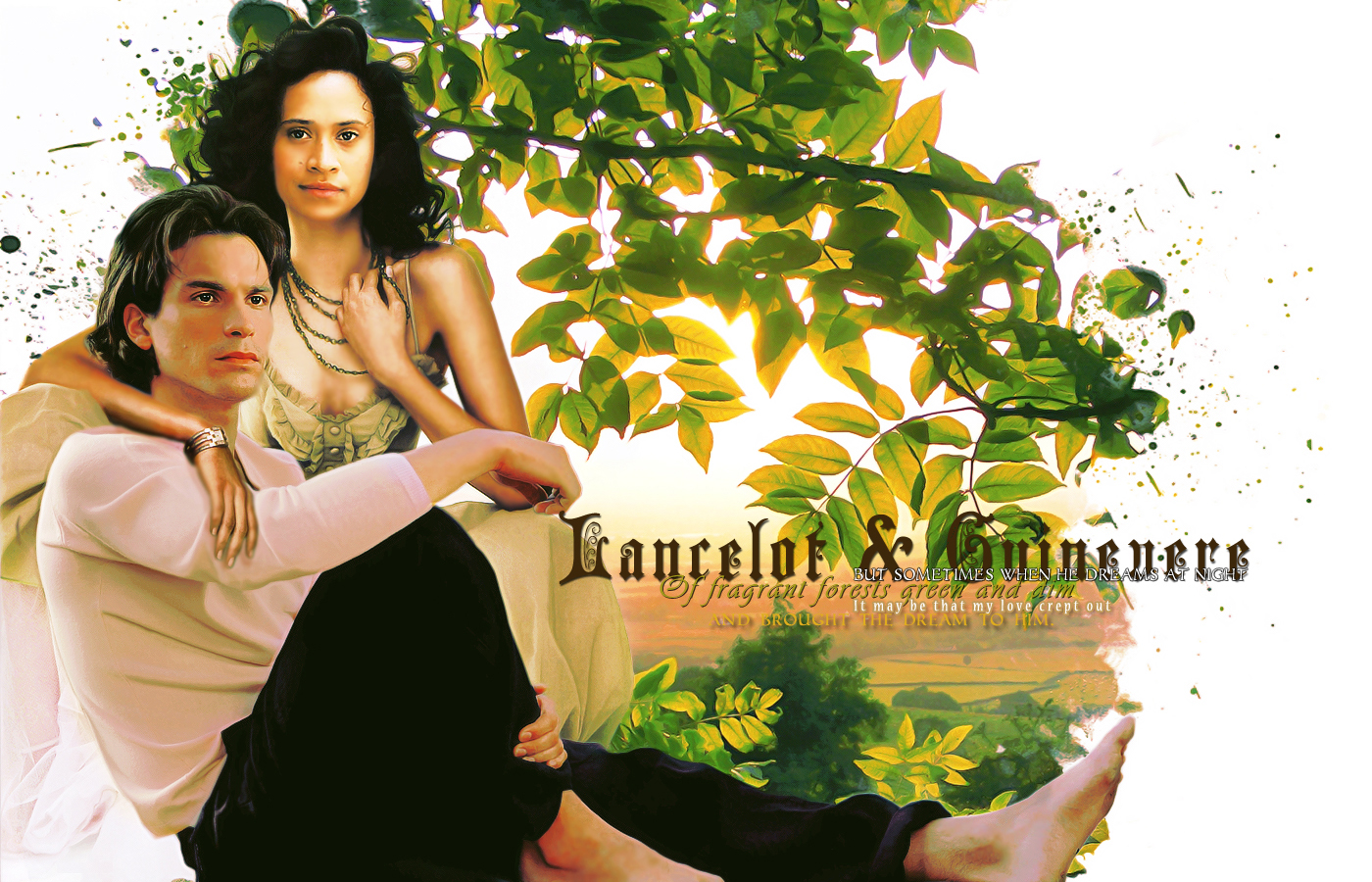 sir lancelot and guinevere relationship