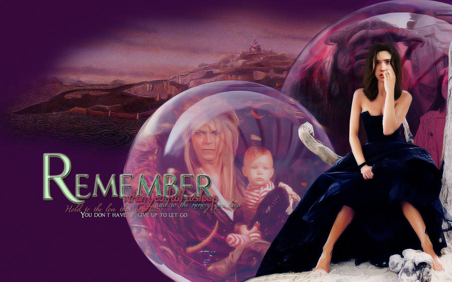 Remember - Labyrinth Wallpaper by magic-ban on DeviantArt Labyrinth 1986 Wallpaper