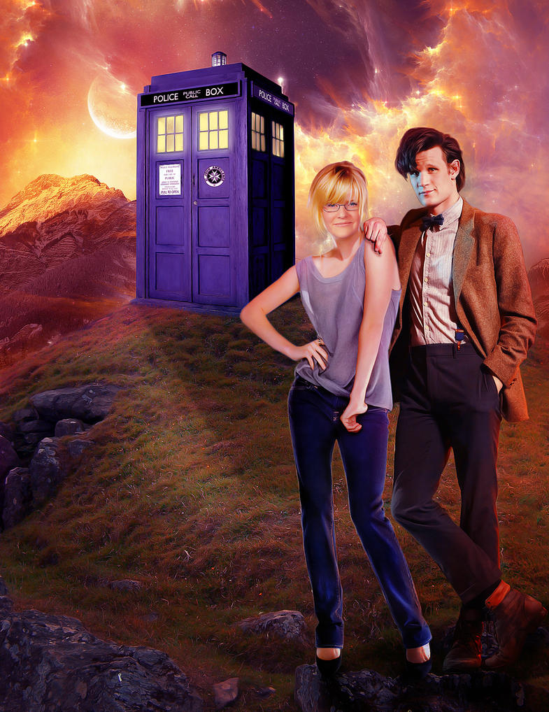 The Doctor and who?? by magic-ban on DeviantArt
