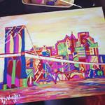 Brooklyn Bridge Abstract
